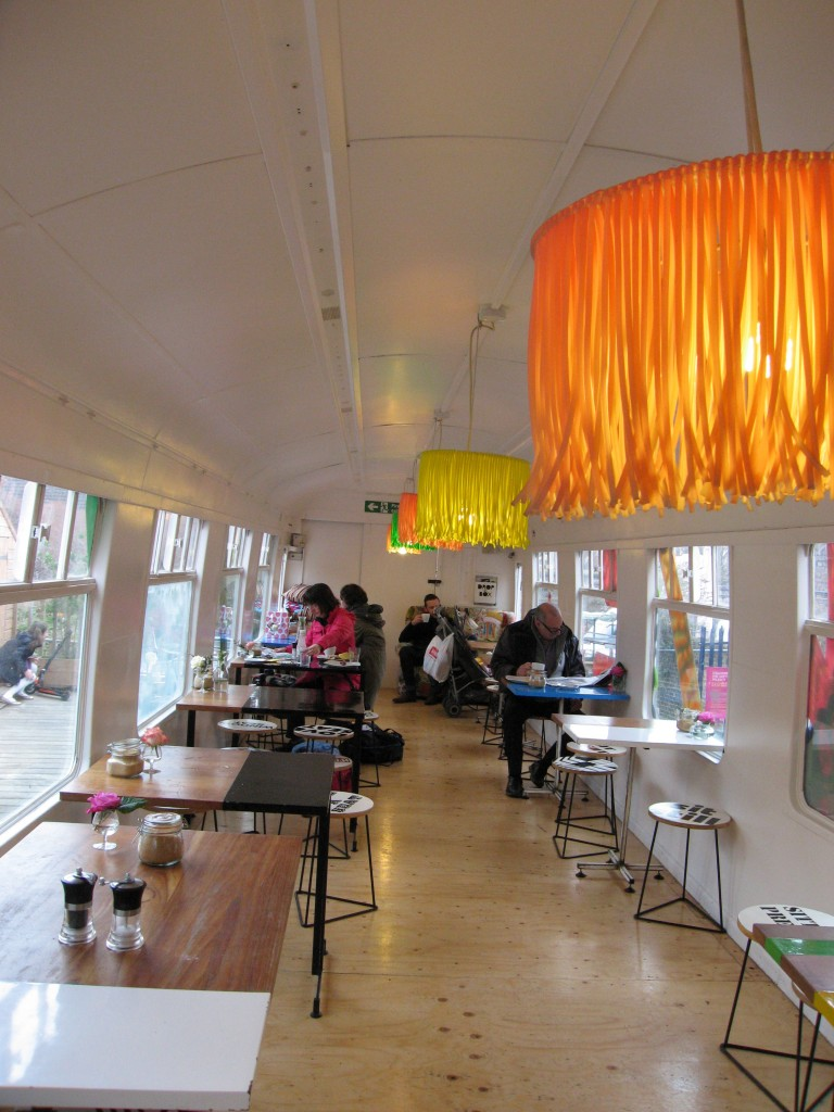 interior deptford project cafe