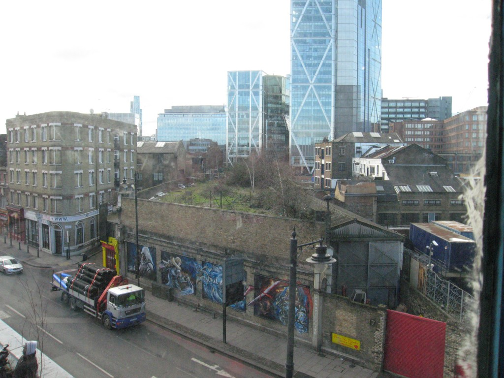 View from the Village Underground