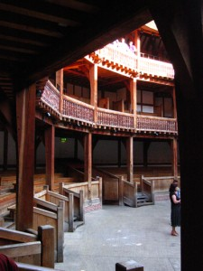 groundling area at the london globe theatre