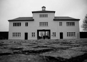 ENTRANCE TO CONCENTRATION CAMP